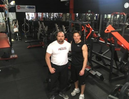 Stuart Stokes in THE GYM MORAIRA!